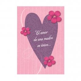 Tarjeta de Felicitación Día de la Madre Modelo 3