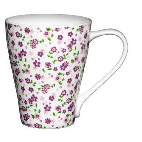 Taza para Mug Cake Florecillas lilas