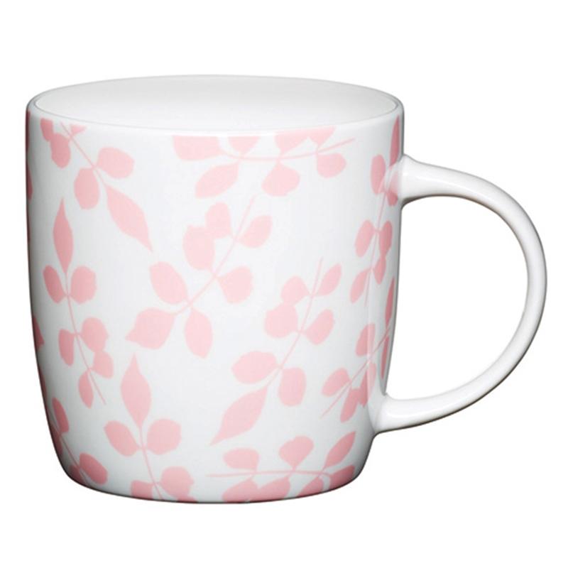 Taza para Mug Cake Hojas Rosas