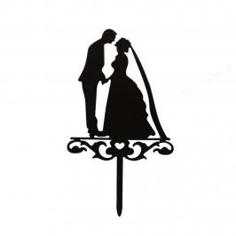 Topper Matrimonio Beso 1