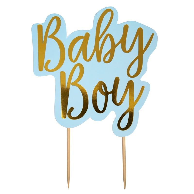 Topper para Tartas Baby Boy