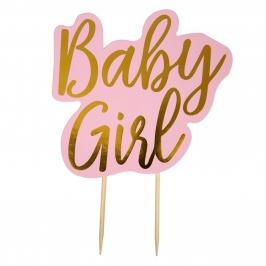 Topper para Tartas Baby Girl