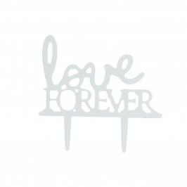 Topper para Tartas Love Forever