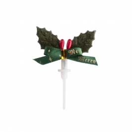 Topper Navidad Merry Christmas 5 cm