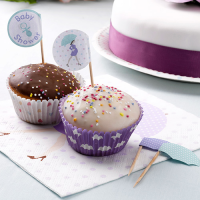Toppers para Cupcakes Baby Shower