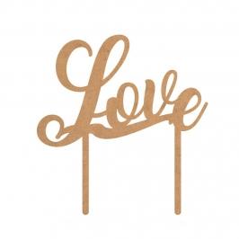 Topper para Tarta Love