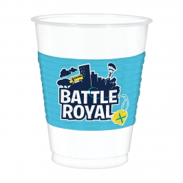 Juego 8 Vasos Battle Royale 473 ml