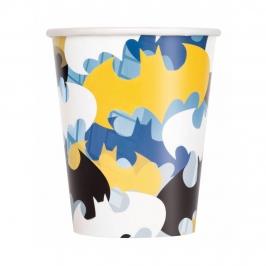 Vasos de Papel Batman 8 ud