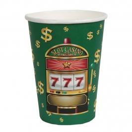 Vasos de Papel Casino 10 ud