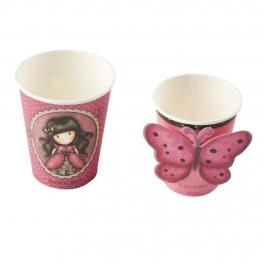 Vasos de Papel Gorjuss Ladybird 8 ud