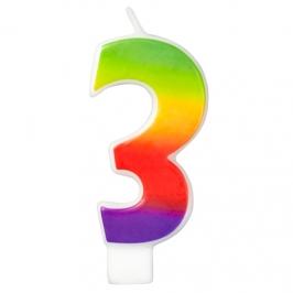 Vela Rainbow Nº 3 Wilton
