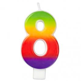 Vela Rainbow Nº 8 Wilton