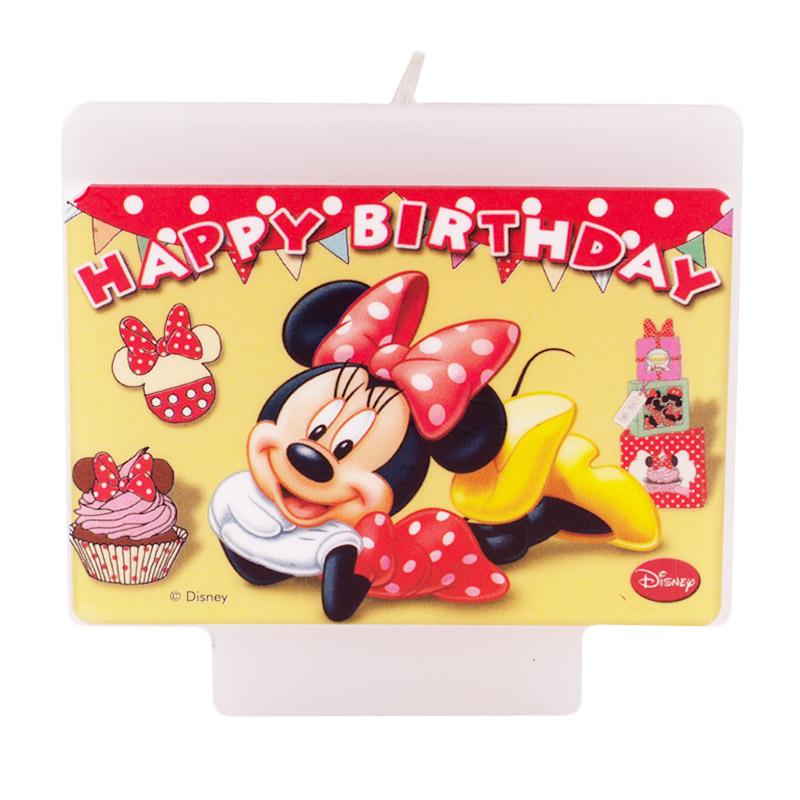 Vela Cumpleaños Minnie Mouse - My Karamelli