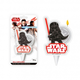 Vela Darth Vader Star Wars 2D