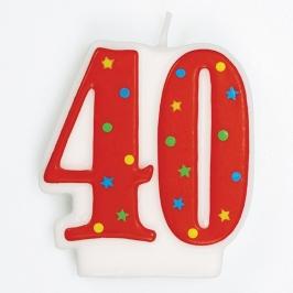 Vela de cumpleaños 40 años