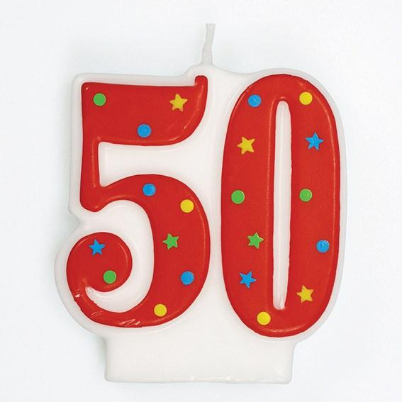 Vela 50 a os my karamelli - Globos 50 anos ...
