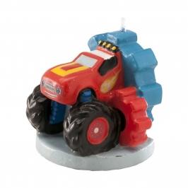 Vela de Cumpleaños Blaze 3D