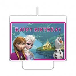 Vela de Cumpleaños Frozen