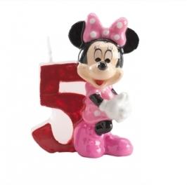 Vela de cumpleaños Minnie Nº 5
