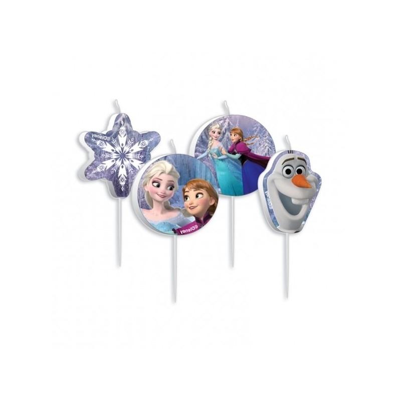 Vela Feliz cumpleaños Frozen