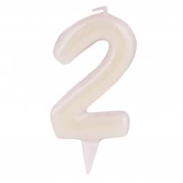 Vela Fluorescente Nº2 - My Karamelli