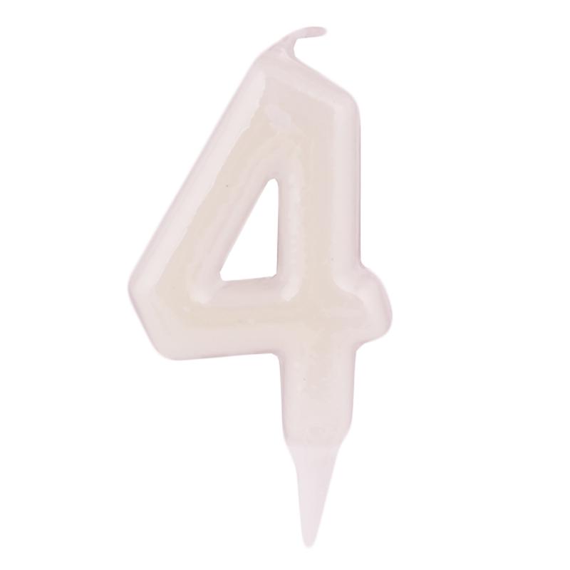 Vela Fluorescente Nº 4 - My Karamelli
