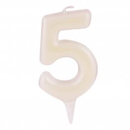 Vela Fluorescente Nº 5 - My Karamelli