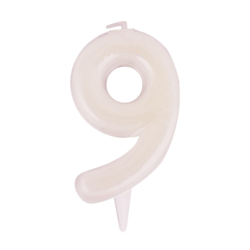Vela Fluorescente Nº 9 - My Karamelli