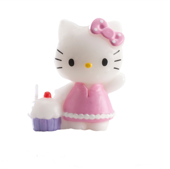 Vela de cumpleaños Hello Kitty