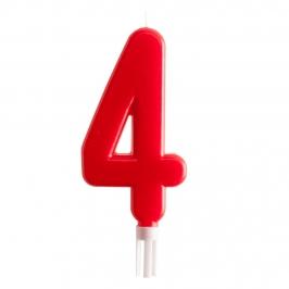 Vela Nº 4 de 15 cm