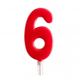 Vela Nº 6 de 15 cm