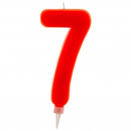 Vela Nº 7 de 15 cm