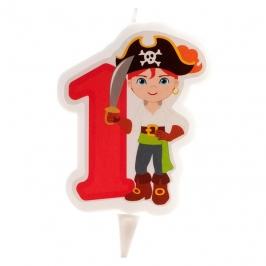Vela Pirata Nº1