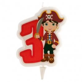 Vela Pirata Nº3