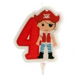 Vela Pirata Nº4