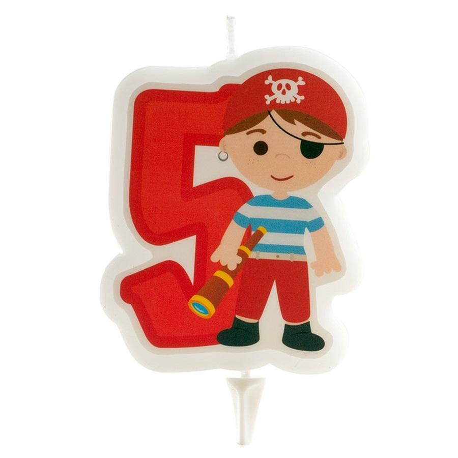 Vela Pirata Nº5