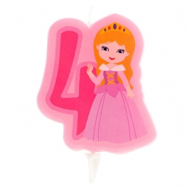 Vela Princesa Nº4