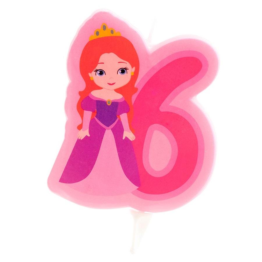 Vela Princesa Nº6