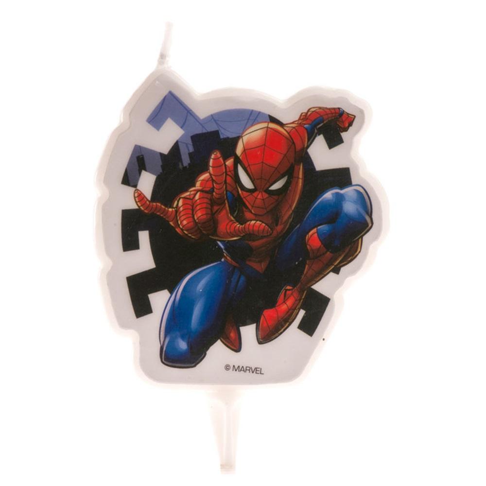 Vela Spiderman 9,5cm