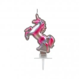 Vela Unicornio Plata