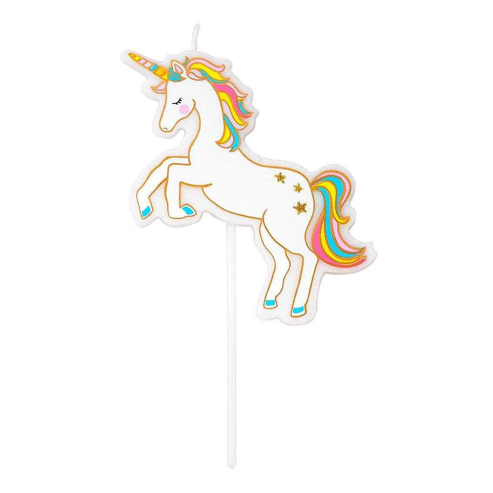 Vela Unicornio Mágico