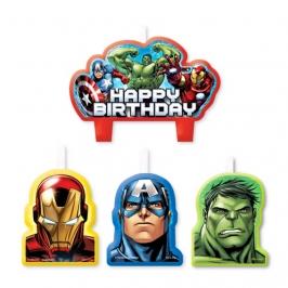 Velas cumpleaños Los Vengadores