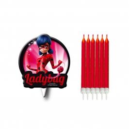 Velas de Cumpleaños Ladybug