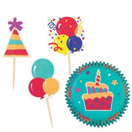 Wilton cupcake combo Celebration