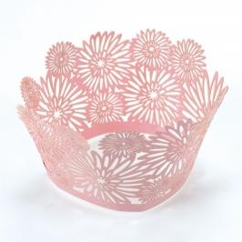Cupcake Wraps dahlia pink