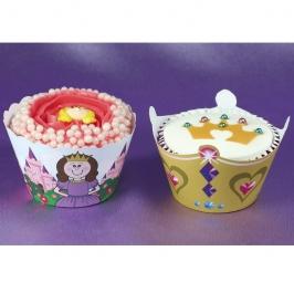 Cupcake Wraps Princesas