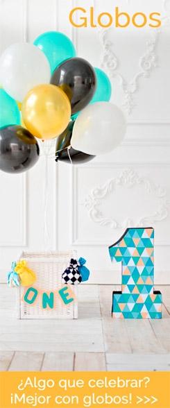 Algo que celebrar, mejor con globos