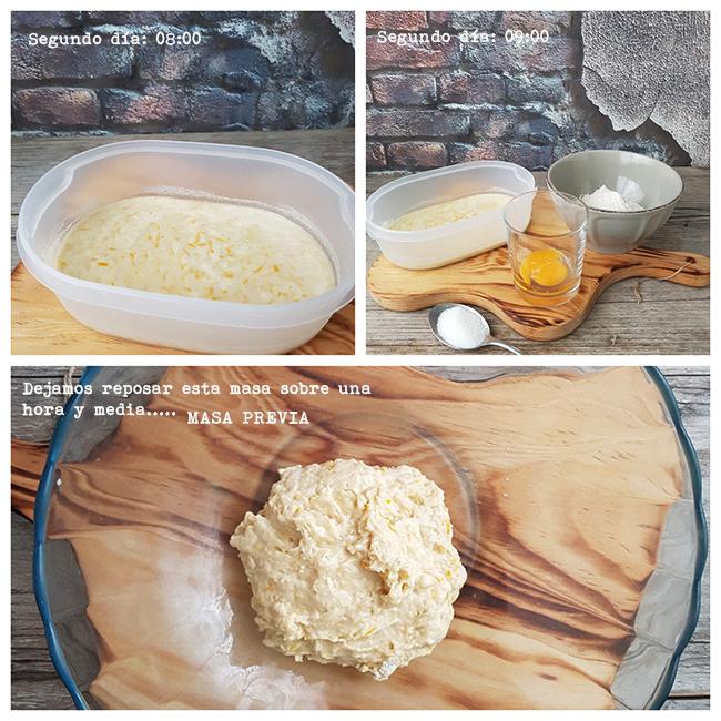 receta de panettone paso a paso