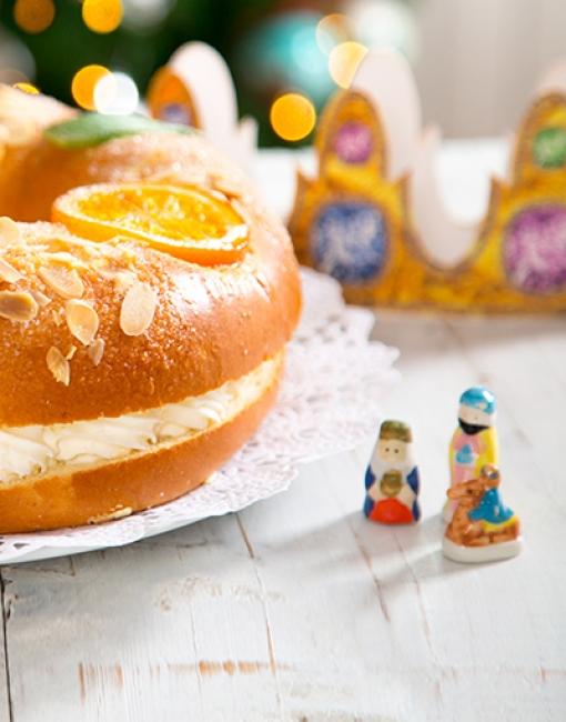 Figuritas e Ingredientes Roscón de Reyes