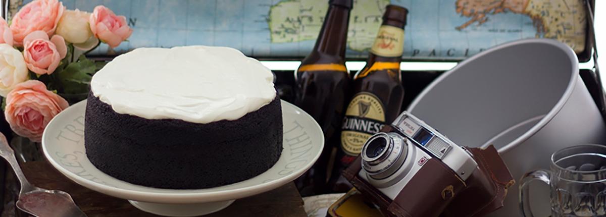 Tarta Guinnes o Tarta de Cerveza Negra